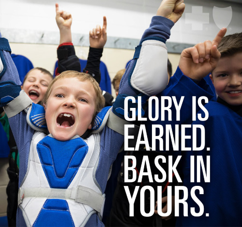 Glory is earned. Bask in yours.