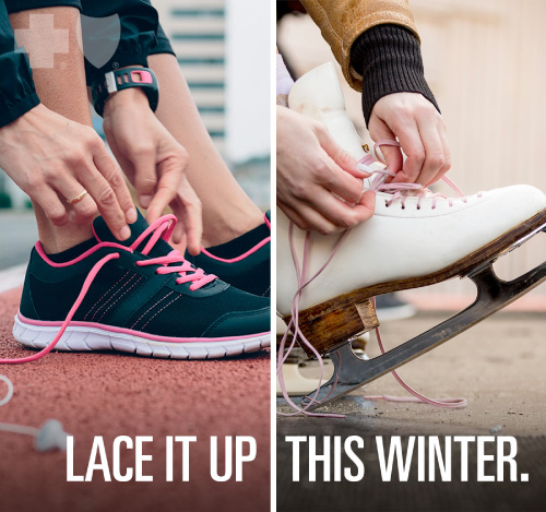 Lace it up this winter.