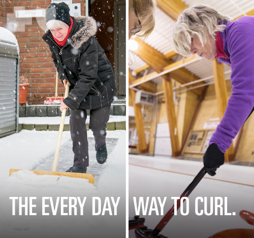 The every day way to curl.